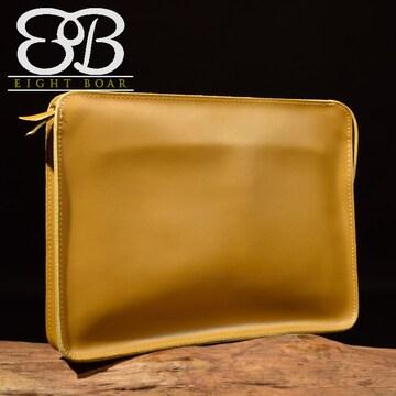 ◆牛本革 2WAYクラッチバッグ セカンドバッグ ショルダー◆茶b1