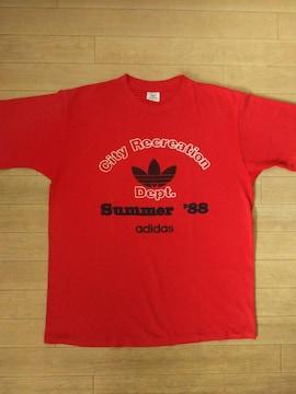 80s USA製 adidas ヴィンテージ Tシャツ XL