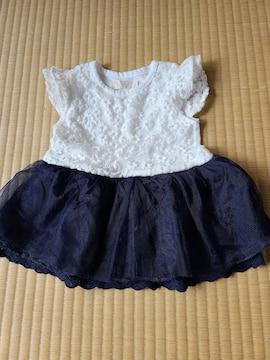 可愛いドレス★サイズ80★チュール