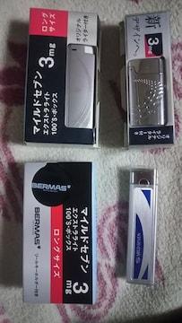 レアー♪マイルドセブン100Sのライター3つ&リールキーホルダー♪非売品