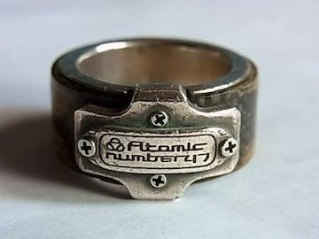 アトミックナンバー47Atomic number47リング指輪19号シルバー925