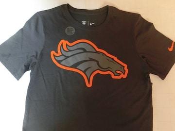 ナイキ【DRI FIT】NFL【Denver Broncos】ロゴT US M