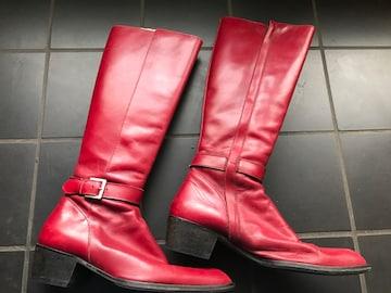 ユナイテッドアローズ  size 35・5 赤い ヒール4cm