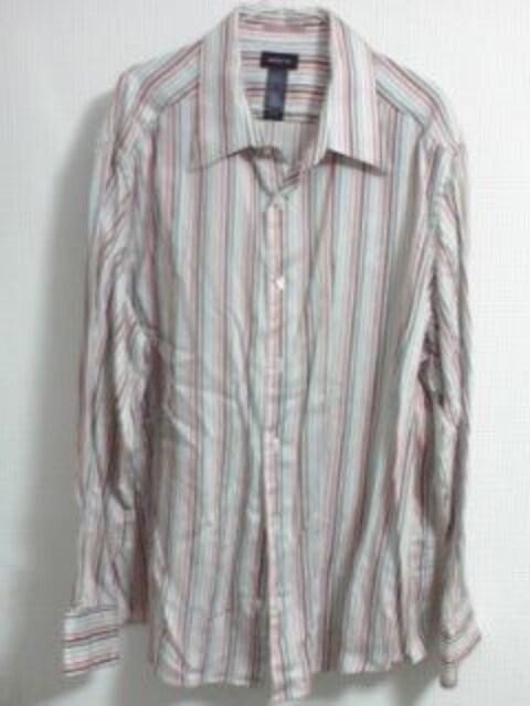 CLAIBORNE ストライプシャツ 2XL  < 男性ファッションの
