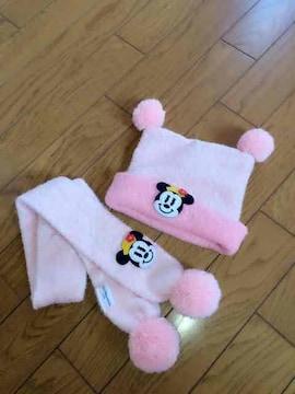 東京ディズニーリゾート☆帽子、マフラーセット