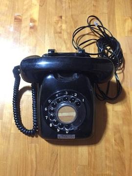 335.レトロ☆黒電話  600-A2