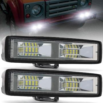 LEDワークライト 20W バイクフォグランプ 作業灯 12V 24V兼用