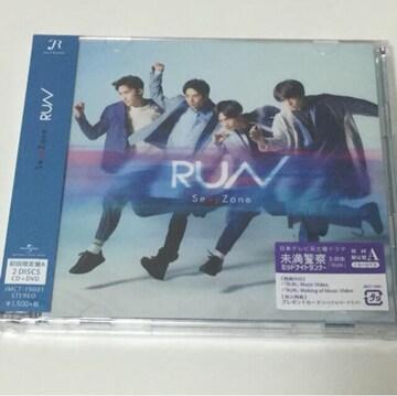 【送料無料】新品/Sexy Zone 「RUN」初回限定盤A