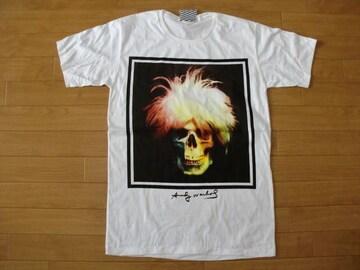 アンディウォーホル パロディ Tシャツ 白 M