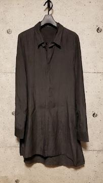 MAJULIUSエムエーユリウス  アタッチドカラーシャツ  2