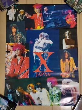 X JAPAN 特ポスター The Last Live〜最後の夜〜 84cm×60cm hide
