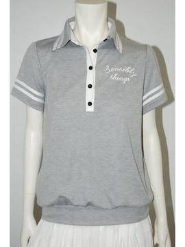 新品Dosch★ソデライン入りロゴポロシャツ