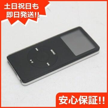 ●安心保証●良品中古●iPOD nano 第1世代 2GB ブラック●