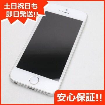 ●安心保証●美品●DoCoMo iPhoneSE 16GB シルバー●白ロム
