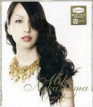 中島美嘉★Over Load★初回限定盤★未開封