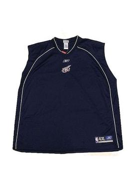 セール新品送込Reebokリーボック★ヒューストンロケッツ★ビッグシルエットゲームシャツ4XL