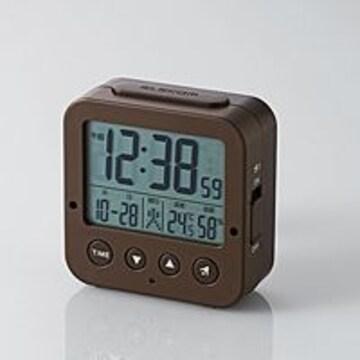 電波デジタル目覚まし時計 CLK-DD001BR