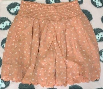 花柄 キュロット スカート