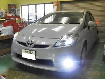 トヨタ プリウス 30#純正フォグランプ LED化  NEW