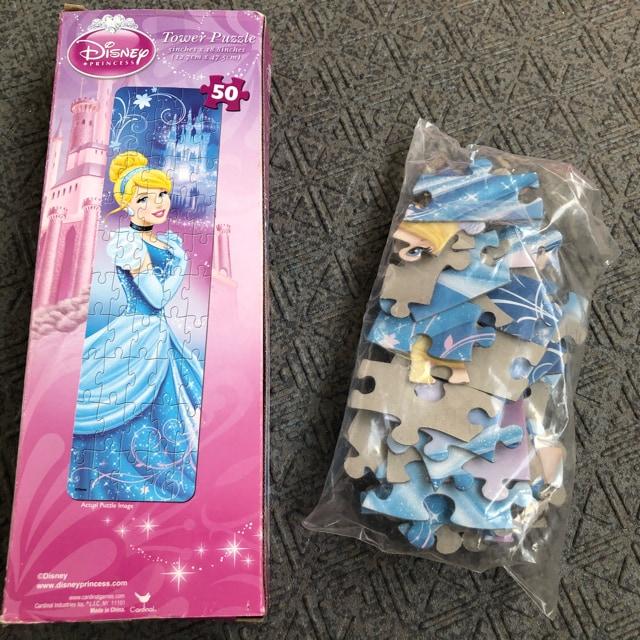 新品 知育玩具 ディズニー プリンセス  シンデレラ  パズル < おもちゃの