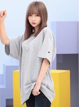 新品未使用チャンピオンChampion/半袖ロゴ刺繍TシャツトップスS