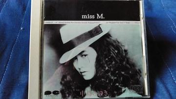 中島みゆき miss M. 85年盤