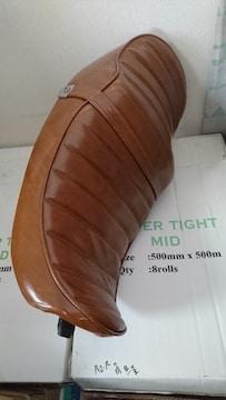 ゼファー400/未使用/タックロール 茶色