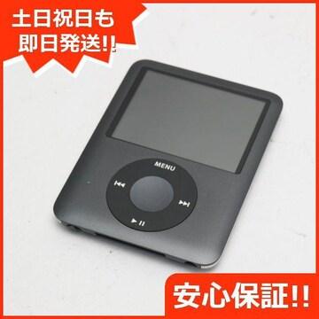 ●安心保証●美品●iPOD nano 第3世代 8GB ブラック●