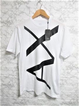 ☆A/X アルマーニ エクスチェンジ ビッグロゴ Tシャツ/メンズ/S☆新作モデル☆新品