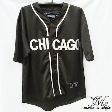 MLBシカゴ ホワイトソックス BBシャツ ベースボールシャツL 46