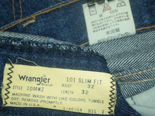 #USA製¶Wrangler[ラングラー]★10MWZ.スリムデニムパンツ・ジーンズ 80cm < ブランドの