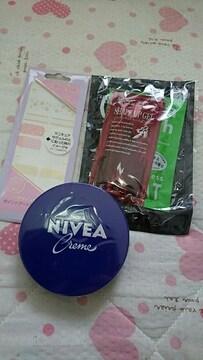 送料込み☆新品未使用☆ニベア青缶クリーム☆お得な4点セット