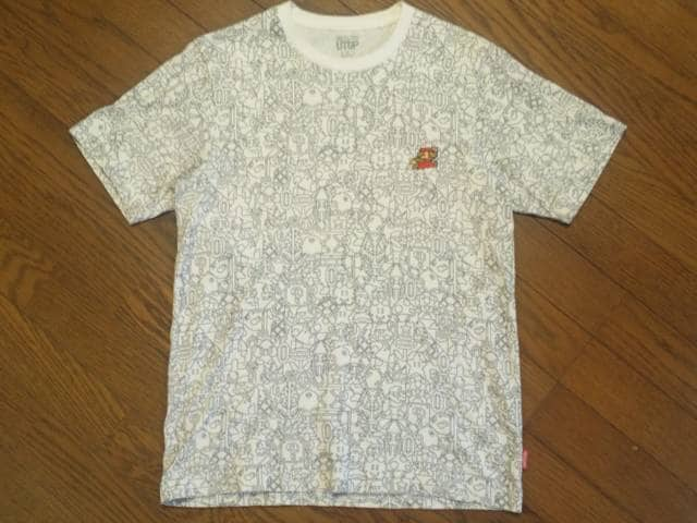 ¶UNIQLO[ユニクロX任天堂]★UTGP「スーパーマリオ」コラボTシャツ M/送料込み < ブランドの