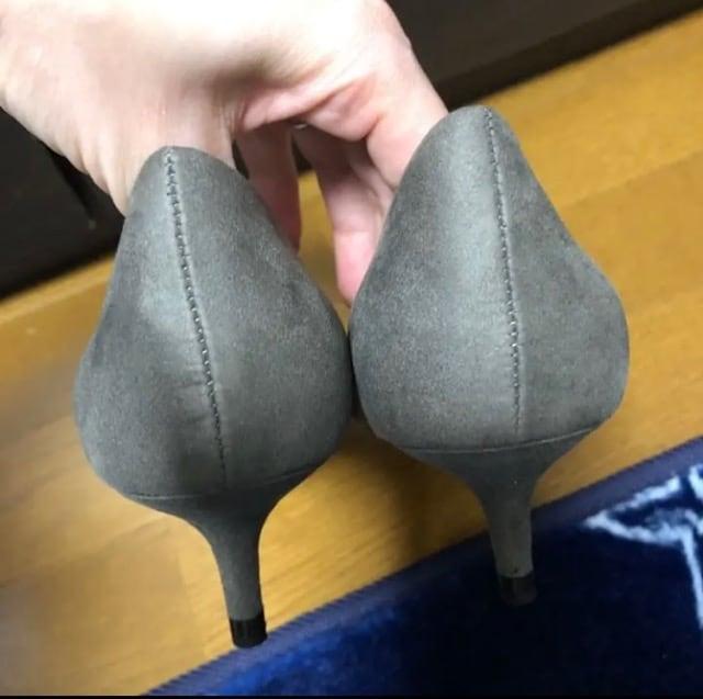 送料込み☆ 新品 ZARA BASIC パンプス < 女性ファッションの