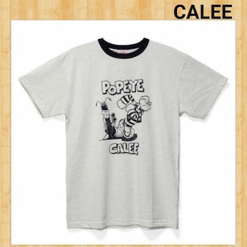 定価7350円 CALEE POPEYE ポパイ コラボ Tシャツ S 美品