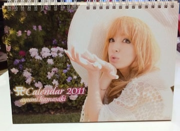 ★浜崎あゆみ/2011年 卓上カレンダー★