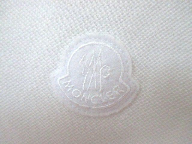 ☆MONCLER モンクレール ワッペン 襟ロゴ ポロシャツ/半袖/メンズ/S☆国内正規品 < ブランドの
