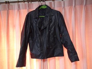 GUのライダージャケット(M) 黒!。