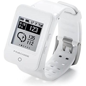 ゴルフナビ ゴルフGPS 距離測定器 クリップ・腕時計型 音声案内