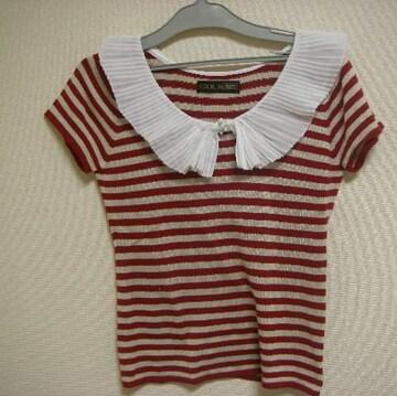 セシルマクビー セーター ニット M 半袖