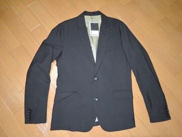 新品ジョンブルJohnbullテーラードジャケットL黒スーツ半額以下