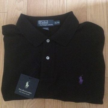 ポロ ラルフローレン ポロシャツ ラルフ Polo Ralph Lauren 美品 ブラック 半袖