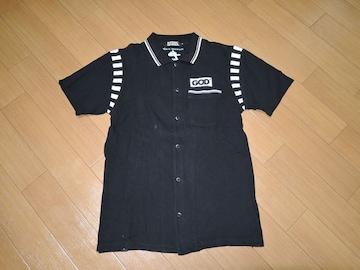 ヒステリックグラマー鹿の子ポロシャツS黒Mark Stewart