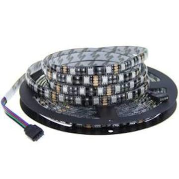 ALITOVE LEDテープ 5050 RGB 12V防水高輝度 3CHIPS-300SMD テー