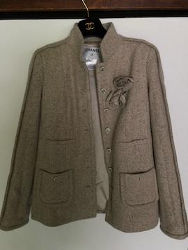 CHANELカシミヤジャケット