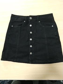 アメリカンイーグル★黒の台形タイト★美品です!
