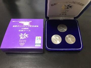 長野オリンピック    500円貨幣セット