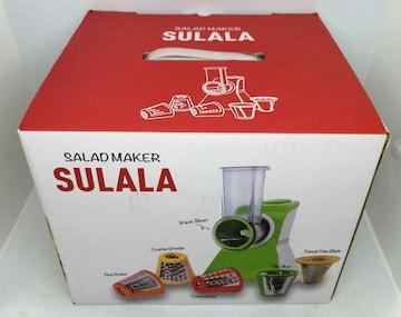 新品、未使用品 サラダメーカー SULALA CLVー276ーRD