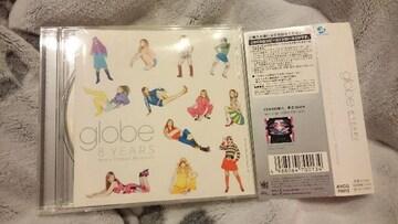globe「8YEARS Many Classic Moments」帯付
