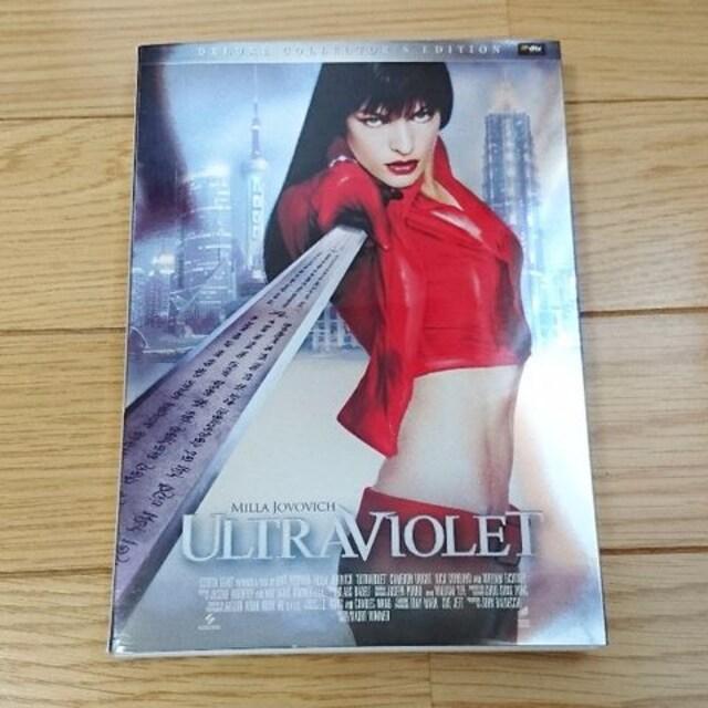 ULTRAVIOLETウルトラバイオレット 初回限定盤 ミラジョボビッチ 映画 DVD  < CD/DVD/ビデオの